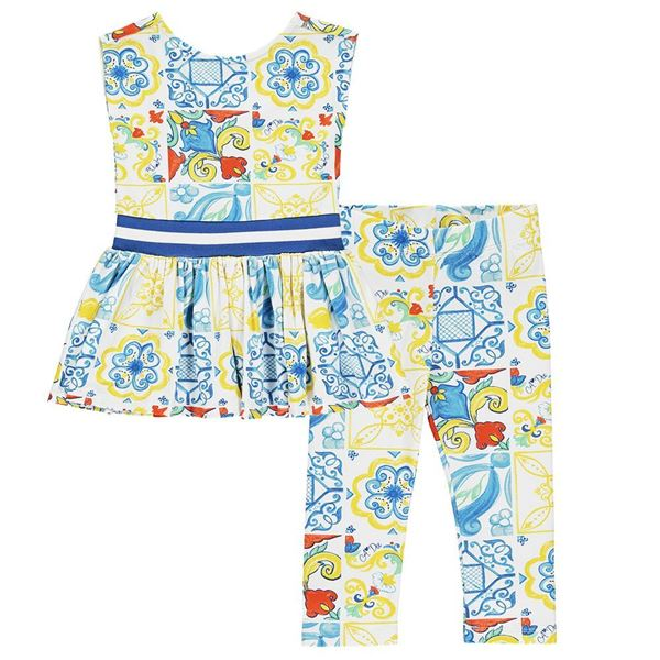 Picture of Ariana Dee Girls 'Lainey' Printed Leggings Set