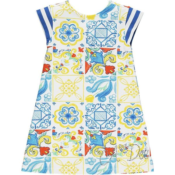 Picture of Ariana Dee Girls 'Laura' Printed Dress
