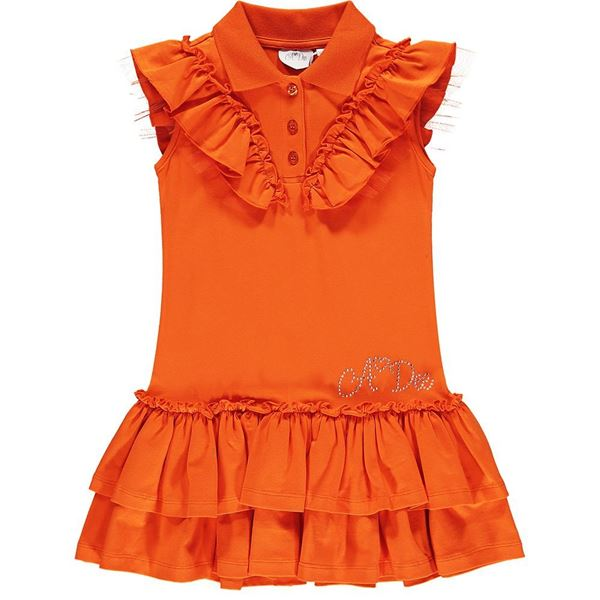 Picture of Ariana Dee Girls 'Lauryn' Orange Dress