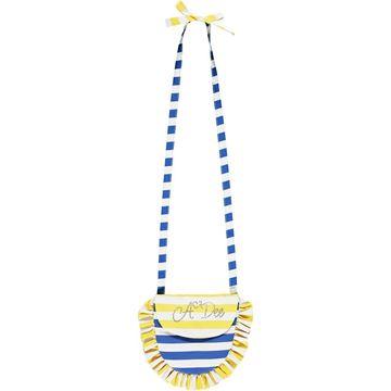 Picture of Ariana Dee Girls ' Lavina' Blue Stripe Bag