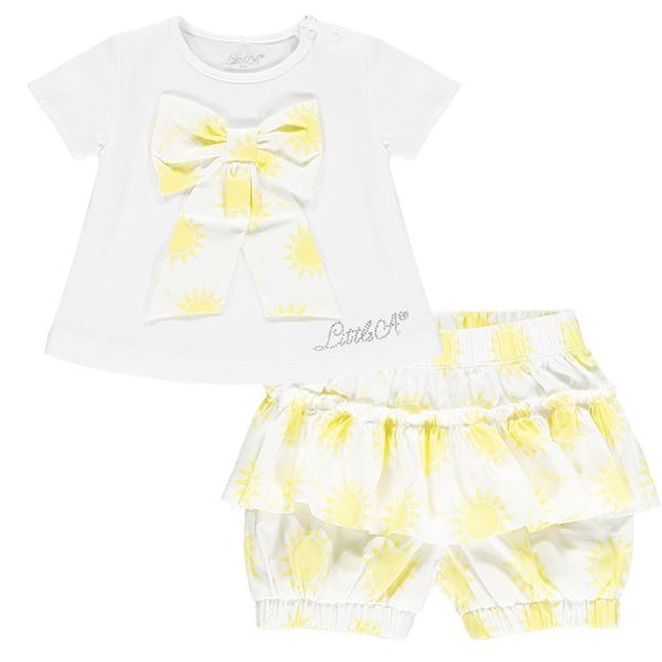 Picture of Little A Baby Sunshine Top & Short Set