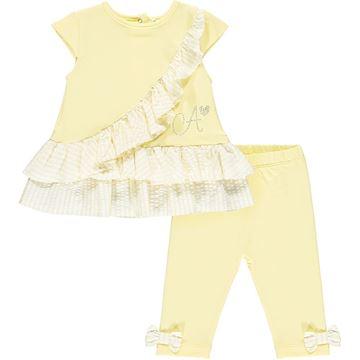 Picture of Little A 'Katie' Baby Lemon Leggings Set