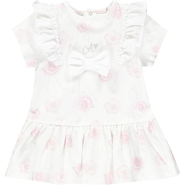 Picture of Little A 'Jane' Baby Flamingo Dress