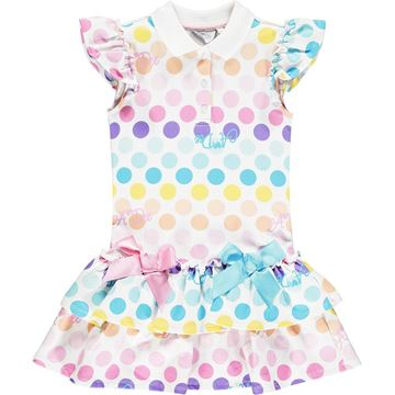 Picture of Ariana Dee Girls 'Nerys' Spotty Tennis Dress
