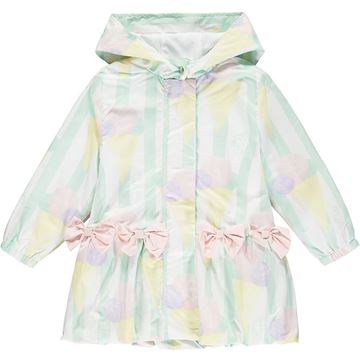 Picture of Ariana Dee Girls 'Olly' Ice Cream Mint Green Jacket