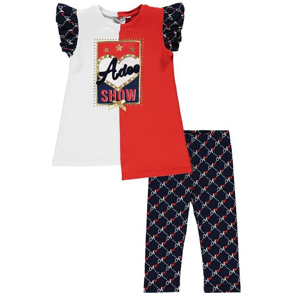 Picture of Ariana Dee Girls 'Michelle' Navy Leggings Set