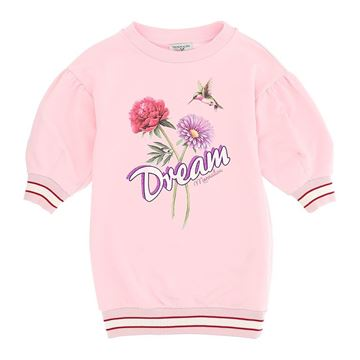 Picture of Monnalisa Girls Pink 'Dream' Jumper Dress