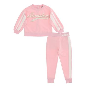 Picture of Monnalisa Girls Pink Tracksuit