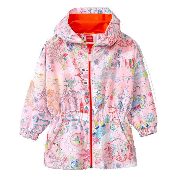 Picture of Oilily Girls 'Castle' Pink Coat