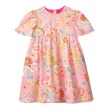 Picture of Oilily Girls 'Downtown' Pink Flower Dress