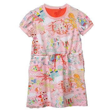 Picture of Oilily Girls 'Taira' Pink Cloud Jersey Dress