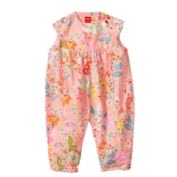 Picture of Oilily Girls Pink Bird Jumpsuit