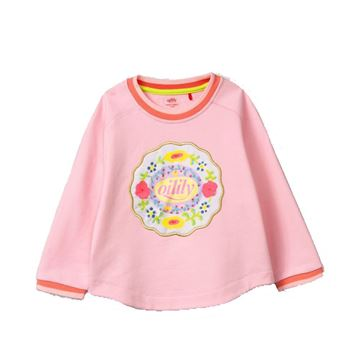 Picture of Oilily Girls 'Home' Pink Jumper