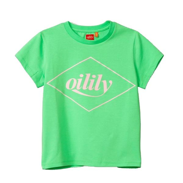 Picture of Oilily Girls 'Tak' Green T-Shirt