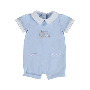 Picture of Mayoral Baby Boy Blue Romper