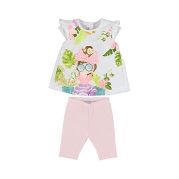 Picture of Mayoral Baby Girl Pink Leggings Set