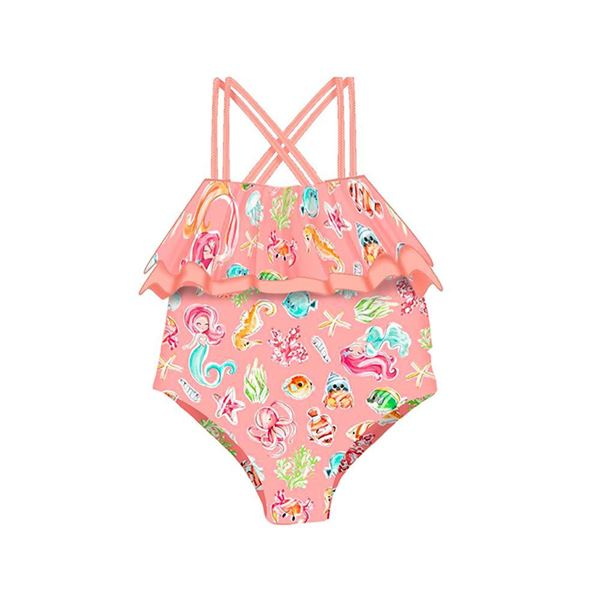 Picture of Mayoral Girls Coral Sea Swimming Costume