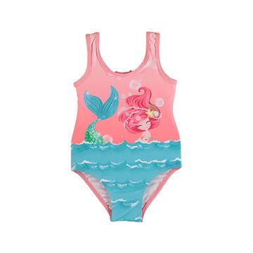 Picture of Mayoral Girls Coral Mermaid Swimming Costume