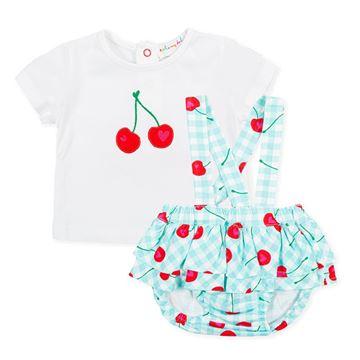 Picture of Agatha Ruiz De La Prada Baby Girl Blue Cherry Set