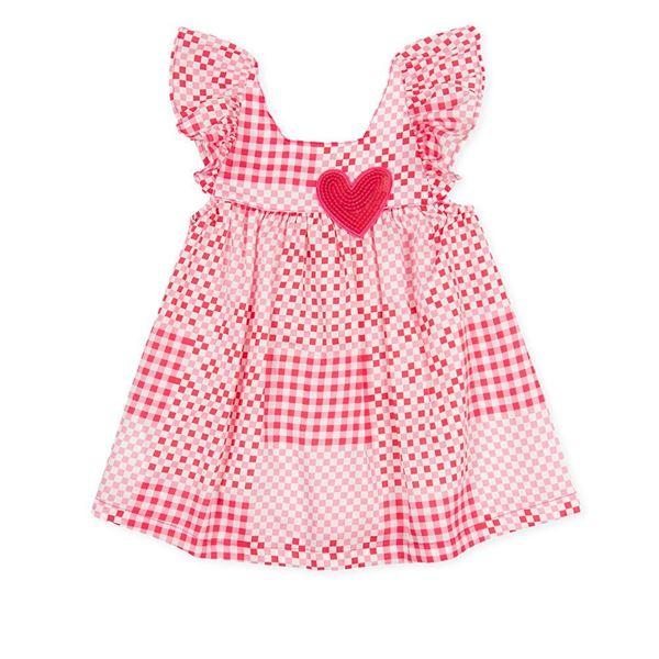 Picture of Agatha Ruiz De La Prada Baby Girls Pink Heart Dress