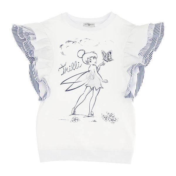 Picture of Monnalisa Girls Blue Fairy Tale Dress
