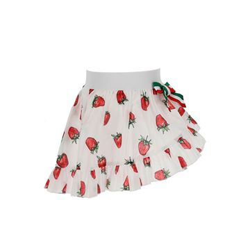 Picture of Monnalisa Girls Strawberry Beach Skirt