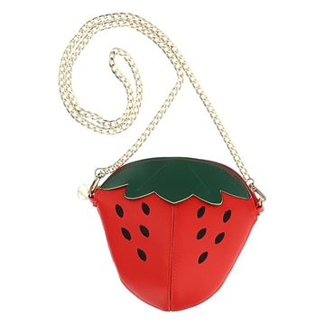 Picture of Monnalisa Girls Strawberry Bag