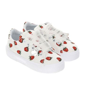 Picture of Monnalisa Girls Strawberry Trainers