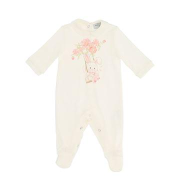Picture of Monnalisa Baby Girl Bunny Babygrow