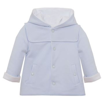 Picture of Patachou Baby Boys Blue Jacket