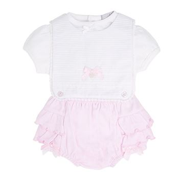 Picture of Blues Baby Girls Pink Knicker Set