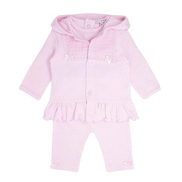 Picture of Blues Baby Girls Pink Tracksuit