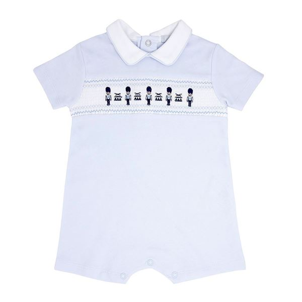 Picture of Blues Baby Boys Blue Soldier Romper