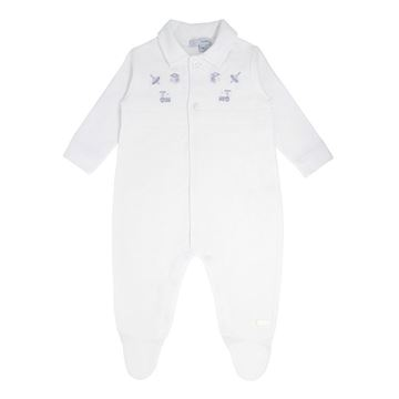 Picture of Blues Baby Boys White Babygrow