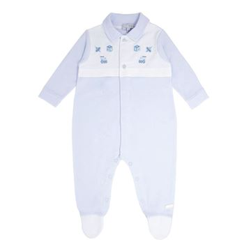 Picture of Blues Baby Boys Blue Babygrow