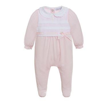 Picture of Patachou Baby Girls Pink Babygrow