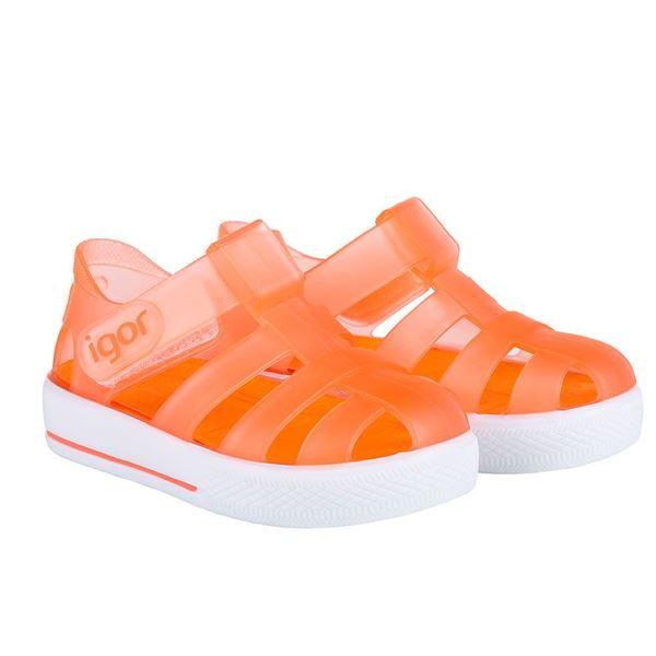 Picture of Igor Star Orange Velcro Jellies