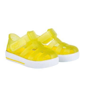 Picture of Igor Star Yellow Velcro Jellies