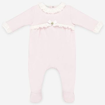 Picture of Paz Rodriguez Girls Pink Babygrow