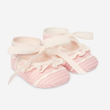 Picture of Paz Rodriguez Girls Pink & Cream Shoes