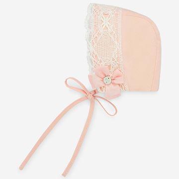 Picture of Paz Rodriguez Girls Peach Bonnet