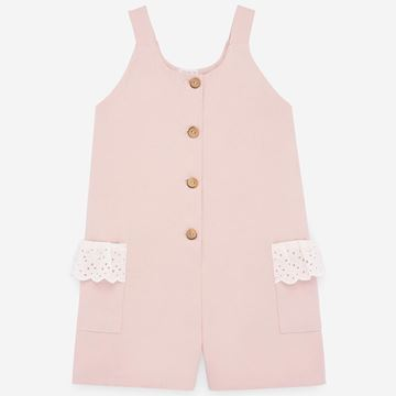 Picture of Paz Rodriguez Girls Pink Jumpsuit