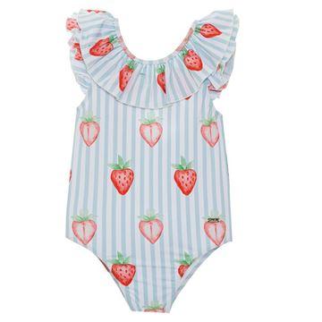 Picture of Patachou Girls Strawberry Swimming Costume