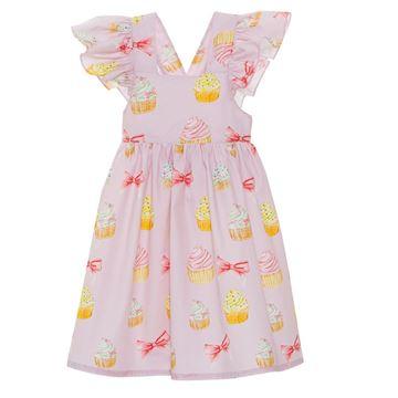 Picture of Patachou Girls Pink Cupcake Beach Dress