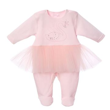 Picture of Sofija Baby Girls Pink Karmen Romper