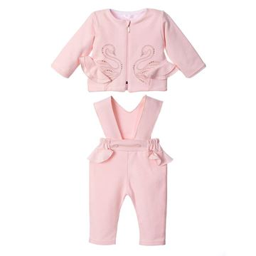 Picture of Sofija Baby Girls Pink Amira Tracksuit