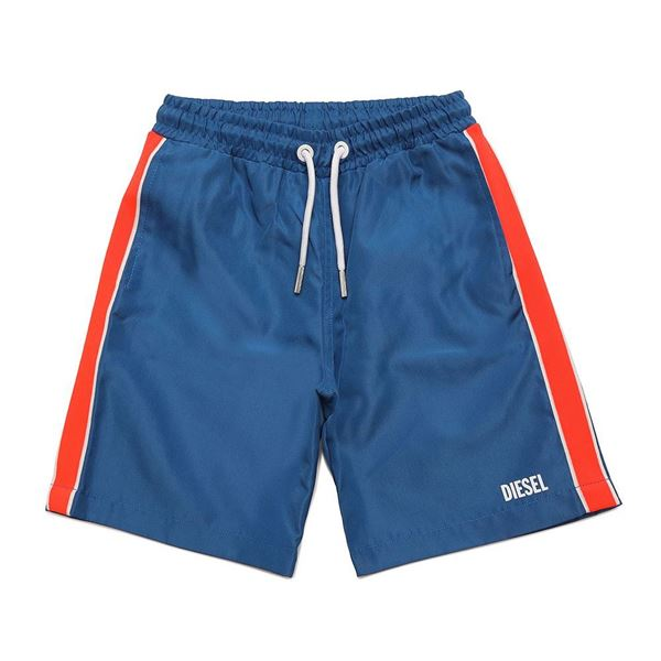 Picture of Diesel Boys Blue Swim Shorts