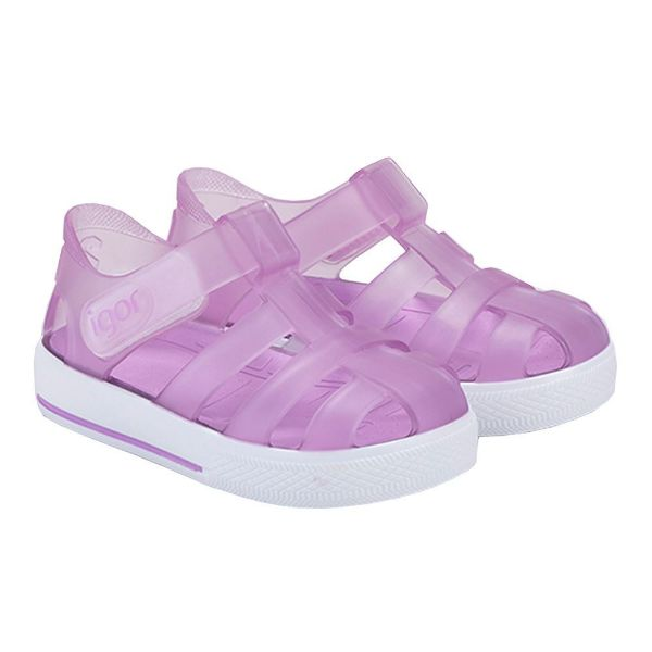Picture of Igor Star Lilac Velcro Jellies
