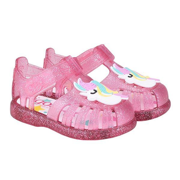 Picture of Igor Tobby Unicorn Pink Velcro Jellies