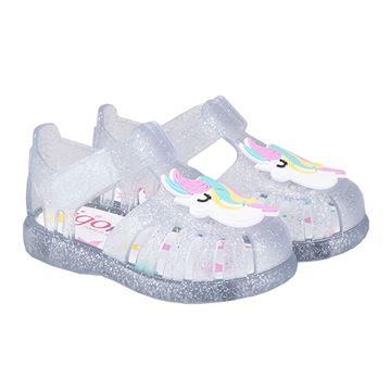 Picture of Igor Tobby Unicorn Clear Velcro Jellies